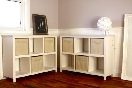 9 cube shelf plans